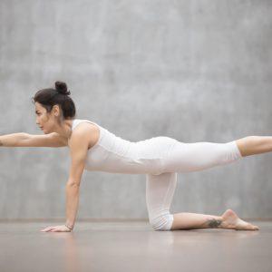 yoga for flat back